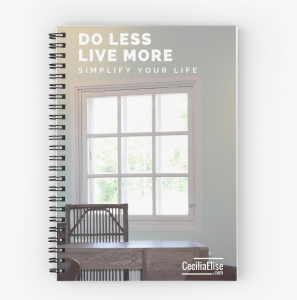 Do Less Live More Workbook